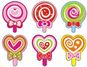可爱卡哇伊棒棒糖照片装饰【美图秀秀素材】#.1