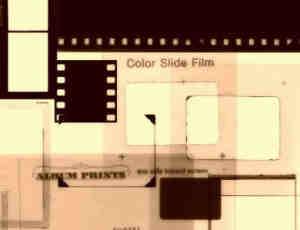 两个胶片、胶卷背景PS笔刷
