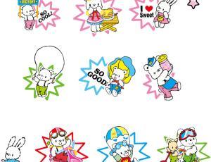 可爱卡通小熊图片素材-【美图秀秀素材】