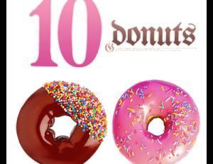 10种甜甜圈、蛋糕图片素材-【可牛影像素材】