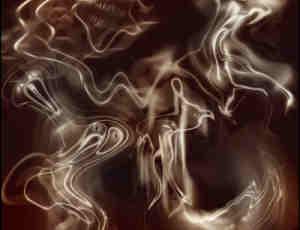 恐怖鬼魂、幽灵PS笔刷素材