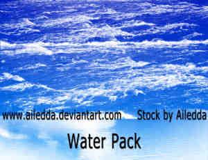 蔚蓝的大海海平面PS笔刷素材