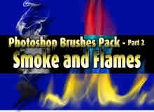 高清火焰特效Photoshop笔刷素材下载