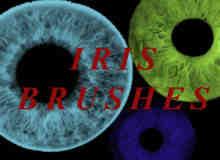 非主流瞳孔、美瞳、眼瞳photoshop笔刷素材