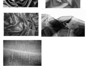 5种丝绸面料背景photoshop笔刷素材