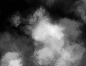 恐怖雾霾天气、大雾天气效果photoshop笔刷素材