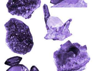 钻石、矿石photoshop笔刷素材