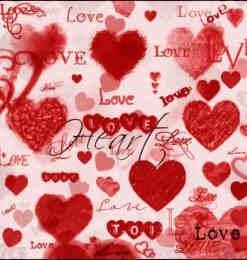 7个朦胧、水彩、烟雾、蜡笔等效果的爱心PS笔刷素材打包下载-爱情