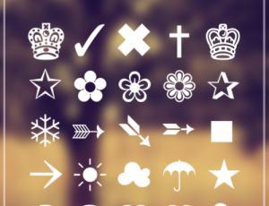皇冠符号-海量PhotoShop笔刷素材免费下载 第 427 页高清图片