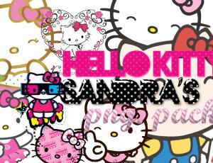 可爱的 Hello Kitty 美图秀秀素材下载
