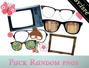时尚眼镜照片装饰美图秀秀素材下载