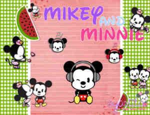 16个米奇、米妮美图秀秀米老鼠素材下载