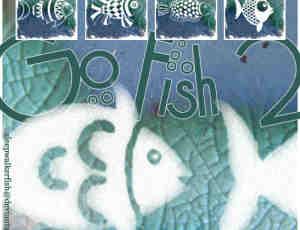 可爱的矢量鱼图案、鱼花纹photoshop笔刷素材