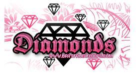 手绘钻石photoshop自定义形状素材免费下载