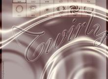 抽象漩涡波纹光线荡漾、涟漪photoshop笔刷素材
