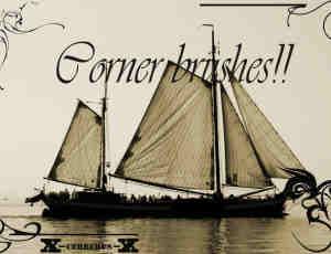 真实的帆船、船photoshop笔刷素材