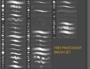 免费photoshop画笔笔刷素材套装下载