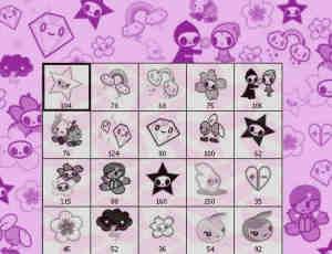 可爱超萌的卡通钻石、彩虹、五角星等照片装饰PS笔刷