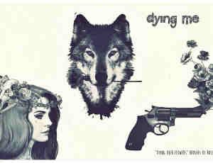 水粉画式女人、狐狸、手枪photoshop笔刷素材