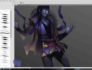专业CG绘画艺术画笔photoshop笔刷素材下载