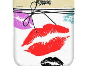 漂亮的性感唇印、口红印photoshop笔刷素材