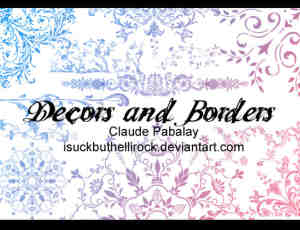 贵族式艺术植物花纹印花、墙花图案、地毯壁纸花纹photoshop笔刷素材