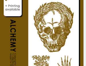 骷髅头、魔鬼之手、地狱船锚等PS手绘笔刷