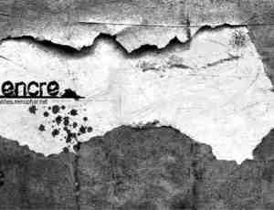 墙面与地面的裂缝、划痕等肮脏的纹理photoshop笔刷素材