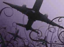 飞机剪影PS笔刷素材下载 #.4