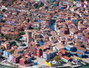20幅空中摄影,带你领略绝美的彩色盘世界