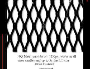 金属栅栏、金属门、金属拉门photoshop笔刷素材