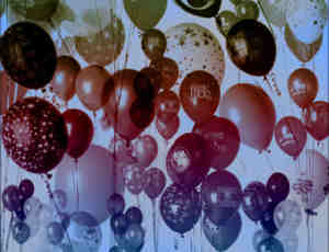 真实的气球photoshop笔刷素材下载