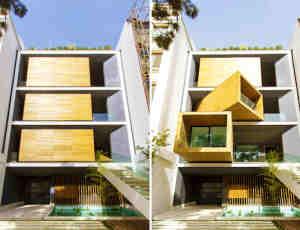 """可变式""""多功能住宅""""房屋设计方案"""