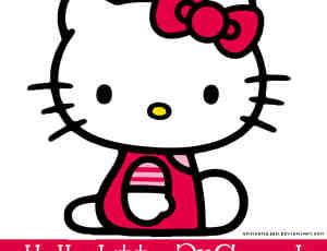 【PNG透明格式】卡哇伊Hello Kitty 猫咪美图秀秀素材包下载