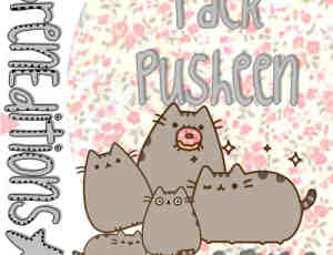 呆萌卡通猫咪PNG透明图片美图秀秀素材包 #.9