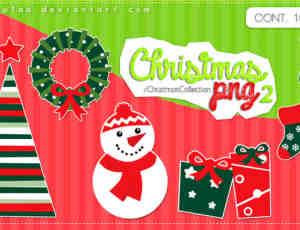 美图秀秀圣诞节素材装饰包免费下载