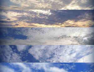 高清真实的云朵天空图片素材Photoshop笔刷下载