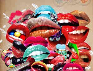 性感红唇、嘴巴、红唇PNG透明素材【美图秀秀笔刷包】