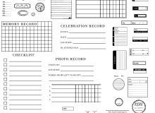 日期、日历、格子、笔记本纸张等Photoshop笔刷