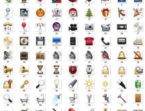 160*160像素Emoji经典表情素材包免费下载#.1
