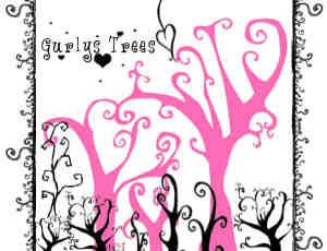 可爱爱情树Photoshop笔刷