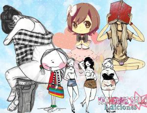 漂亮的卡通女孩美图素材包下载