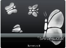 经典蝴蝶花纹Photoshop笔刷