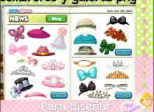 卡通帽子、蝴蝶结、皇冠等PNG透明饰品素材打包下载