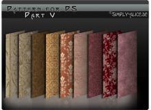 古典墙壁、地毯印花图案民族花纹Photoshop填充图案底纹素材.pat #.3