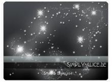 梦幻星星照片背景点缀素材PS笔刷