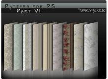 古典墙壁、地毯印花图案民族花纹Photoshop填充图案底纹素材.pat #.2