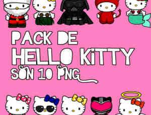 10个可爱卡通Hello Kitty美图素材下载
