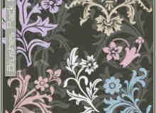 漂亮的植物花纹照片美图背景边框饰品PS笔刷 #.23