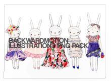 萌萌哒!兔子女孩照片美图素材笔刷包